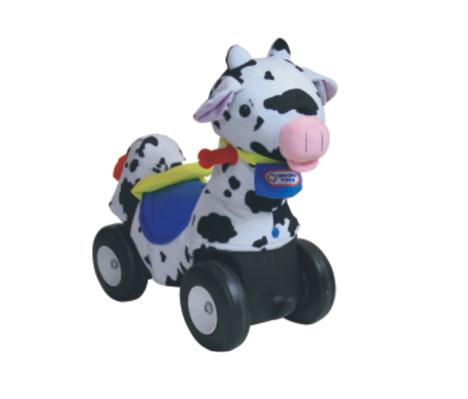 TMT体育-毛绒动物车(奶牛)