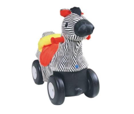 TMT体育-毛绒动物车(斑马)