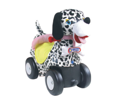 TMT体育-毛绒动物车(斑点狗)