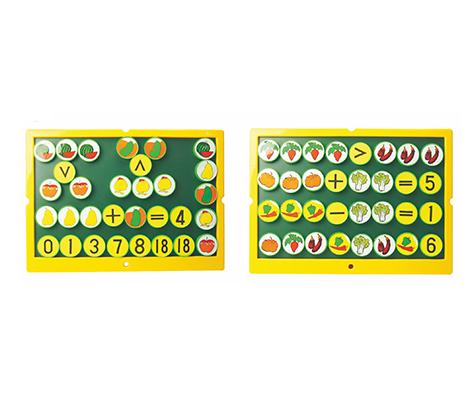 TMT体育-水果蔬菜动物磁性教具